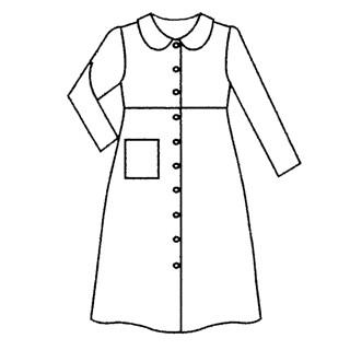 patron couture robe de chambre femme