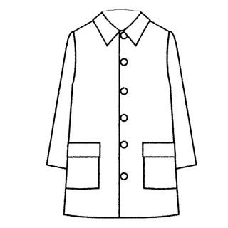 patron couture veste longue homme