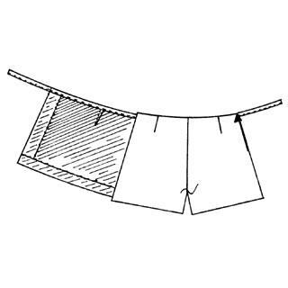 patron couture short jupe